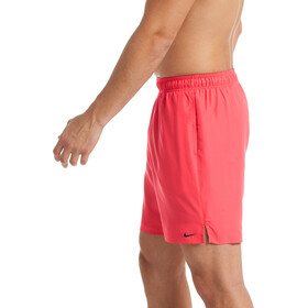"Nike Swim Solid Lap 7"" Volley Shorts Heren, ember glow"